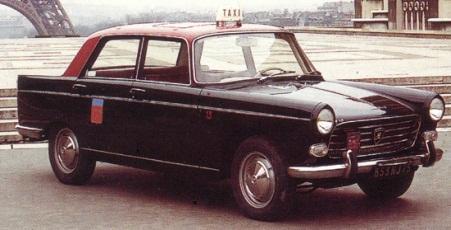 Historique du taxi satvo syndicat des artisans taxis du for Garage des taxis g7